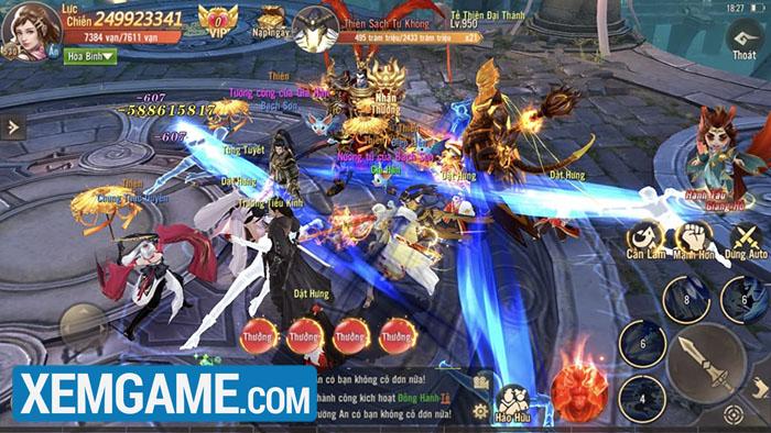 game Phong Khởi Trường An mobile funtap