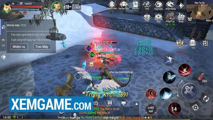 game Forsaken World: Thần Ma Đại Lục VNG