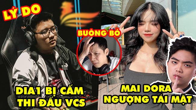Update LMHT: Lý do Dia1 bị cấm thi đấu VCS, Thầy Ba lên tiếng, Mai Dora ngượng tái mặt với Optimus