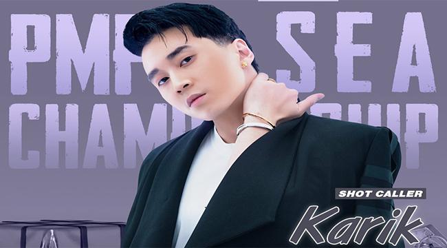 PUBG Mobile: Rapper Karik đồng hành cùng VN trong giải đấu SEA CHAMPIONSHIP S3