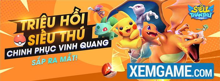 Siêu Thần Thú Mobile - game đấu Pokémon hấp dẫn sắp được GOSU phát hành