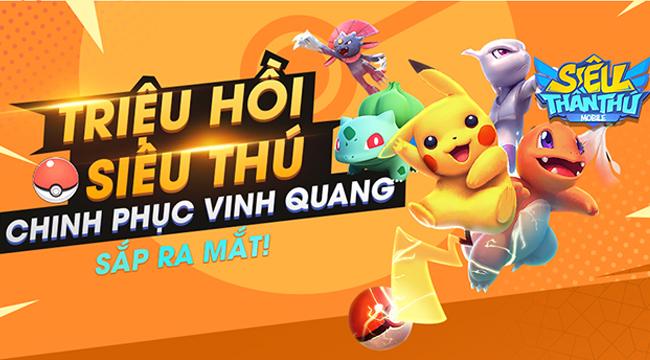 Siêu Thần Thú Mobile – game đấu Pokémon hấp dẫn sắp được GOSU phát hành