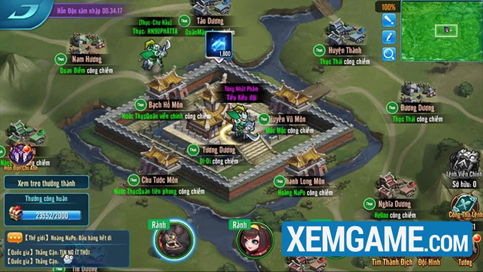 Tư Mã Ý ra trận trong Big Update 2.0 của Tam Quốc Loạn Chiến