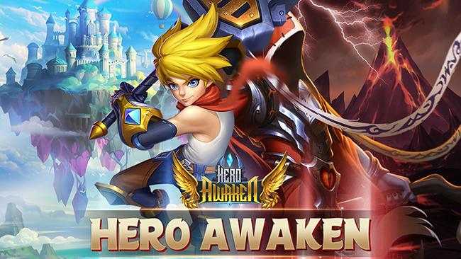 Hero Awaken – sự kết hợp mới lạ giữa thế giới manga và thế giới thần thoại