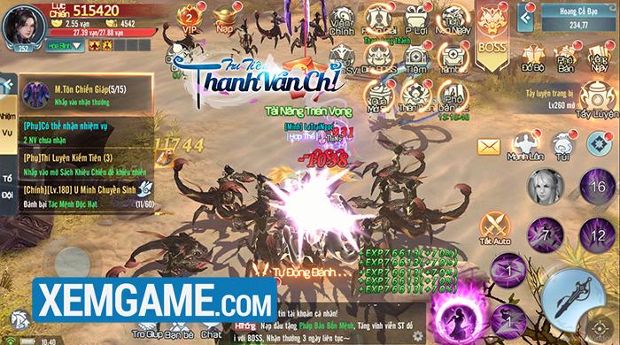 Tru Tiên Thanh Vân Chí | XEMGAME.COM