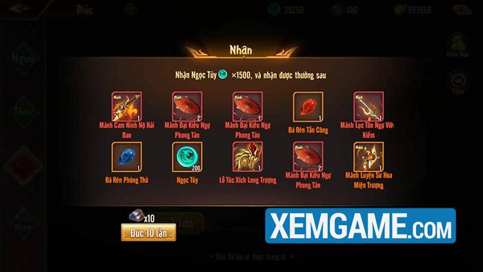 Tìm hiểu tính năng Thần Binh - mở ra hàng loạt chiến thuật mới trong Tân OMG3Q VNG