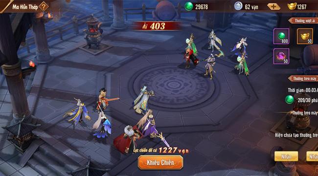 Nhân dịp ra mắt phiên bản mới Công Thành Chiến, Tân OMG3Q VNG tặng 345 giftcode giá trị