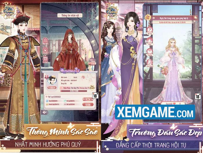 Phượng Hoàng Cẩm Tú | XEMGAME.COM