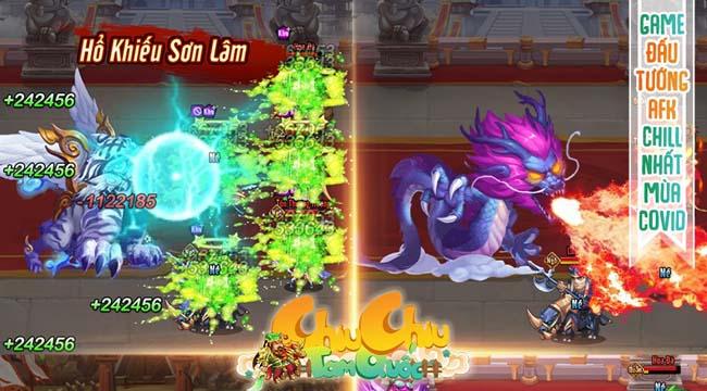 """Chiu Chiu Tam Quốc Mobile – game đấu tướng chơi 1 tay cực """"chill"""" sắp ra mắt"""