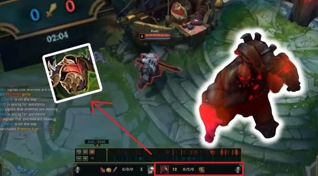 LMHT: Sau Ornn, game thủ tìm ra cách để Sion vác Áo Choàng Gai ra đường ngay từ phút thứ … 2
