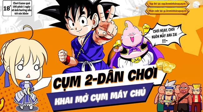 """Liên Minh Siêu Quậy đã phải cập nhật gấp cụm server """"Dân Chơi"""" vì các tín đồ manga ồ ạt đổ vào"""