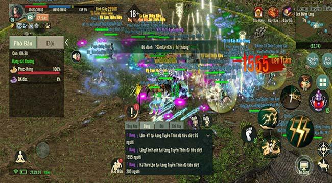 Các bang hội VLTK 1 Mobile đang cạnh tranh nhau ác liệt ở Boss Hoàng Kim