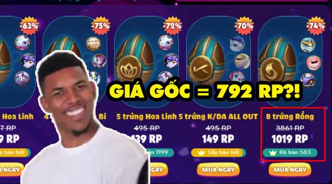 """Game thủ tố Garena khuyến mãi Trứng Linh Thú DTCL """"đắt hơn giá gốc"""""""