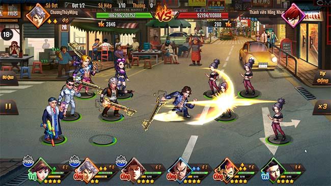 Người Trong Giang Hồ SohaGame – game đấu tướng khắc họa thế giới ngầm đường phố rõ nét