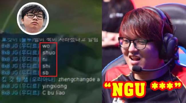 """LMHT: SofM tranh cãi kịch liệt, mắng Gimgoon là """"đồ ngu"""" trong rank Hàn"""