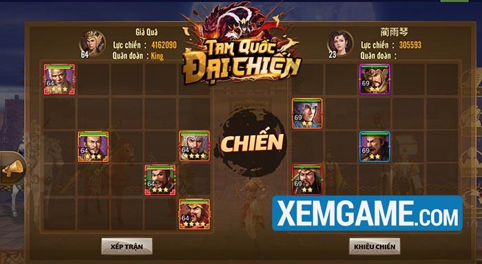 Tam Quốc Đại Chiến | XEMGAME.COM