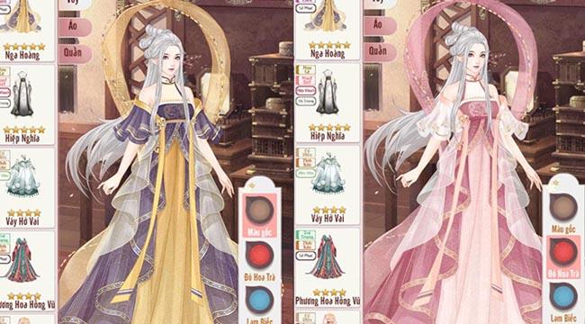 Duy nhất tại Phượng Hoàng Cẩm Tú: người chơi có thể tự nhuộm màu, chế đồ thời trang