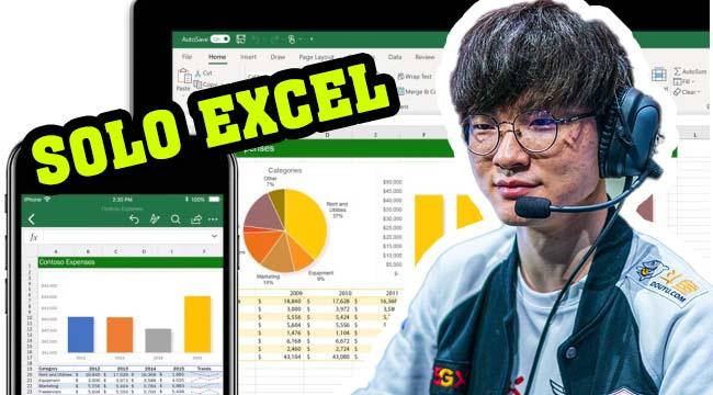 Solo Excel được đưa vào trở thành một bộ môn Esports?