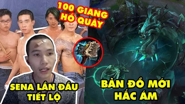 Update LMHT: Sena lần đầu kể bị 100 giang hồ quây, Lộ bản đồ mới hắc ám, Trang bị mới siêu đẩy lẻ
