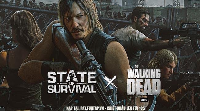 """State of Survival và The Walking Dead """"bắt tay lịch sử"""" để mang Daryl Dixon vào game"""