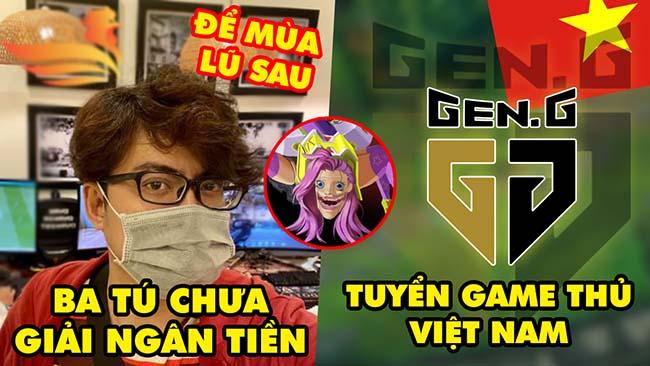 """Update LMHT: """"Ba Tú"""" chưa giải ngân tiền tính để mùa lũ năm sau, GenG tuyển gamer Việt, Skin ám ảnh"""