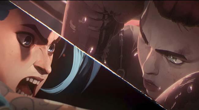 """Riot Games tung trailer Arcane, tập trung vào Vi và Jinx thời """"trẻ trâu"""""""