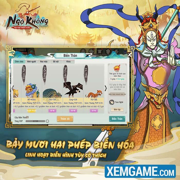 Ngộ Không: Đại Náo Thiên Cung   XEMGAME.COM