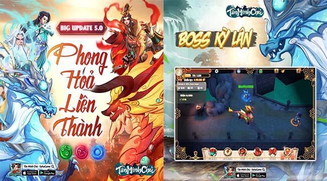 Mừng Big Update 5.0 – Phong Hỏa Liên Thành, Tân Minh Chủ tặng 300 Giftcode cực hot
