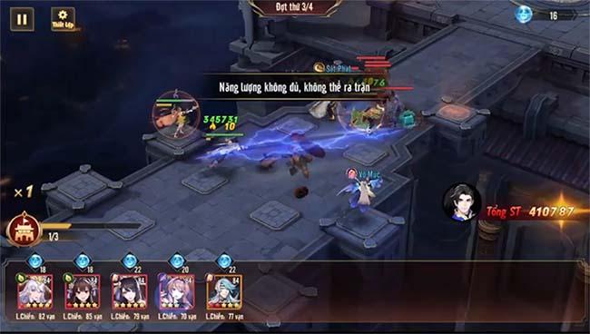 Huyết Chiến Ma Tháp – thử nghiệm kiểu chơi thủ tháp trong phiên bản mới của Tân OMG3Q VNG