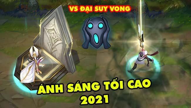 Cận cảnh trang phục mới Ánh Sáng Tối Cao 2021 đối đầu với Đại Suy Vong trong LMHT