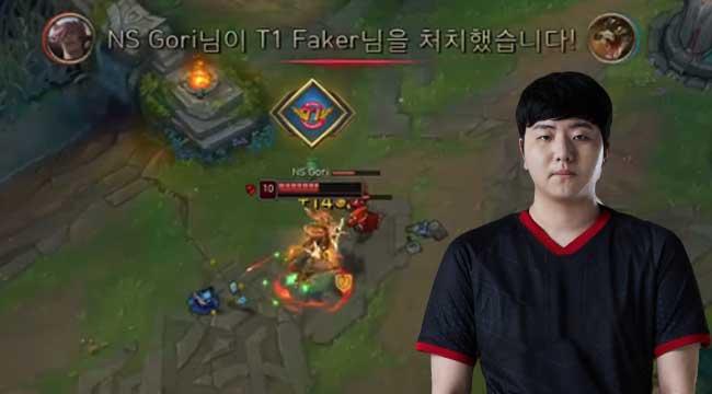 LMHT: Solo kill Faker rồi nhá logo SKT, Gori chia sẻ muốn khẳng định bản thân