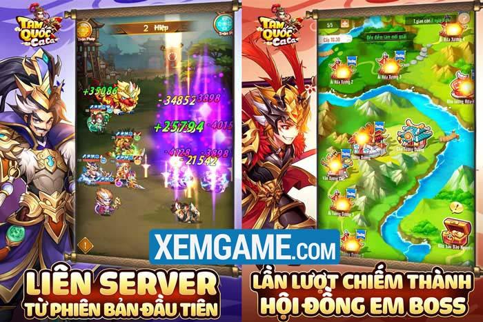 Tam Quốc Ca Ca | XEMGAME.COM