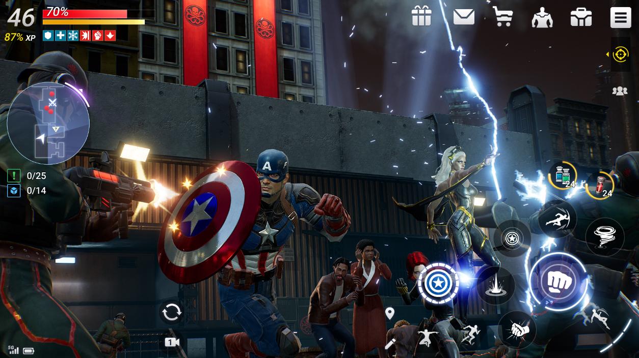 MARVEL Future Revolution là tựa game nhập vai cuốn hút nhất sắp ra mắt dành cho fan comic