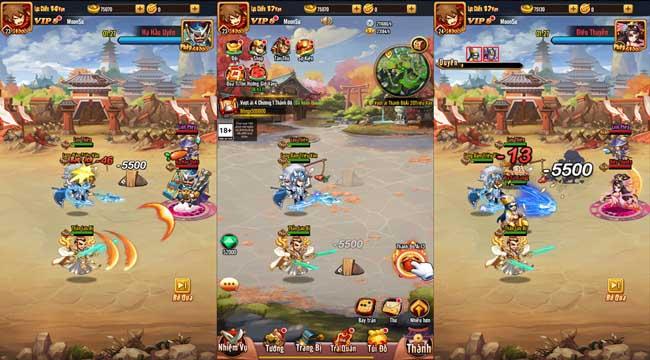 Chiu Chiu Tam Quốc Mobile có tiềm năng thành game quốc dân bởi sự gọn nhẹ và hài hước