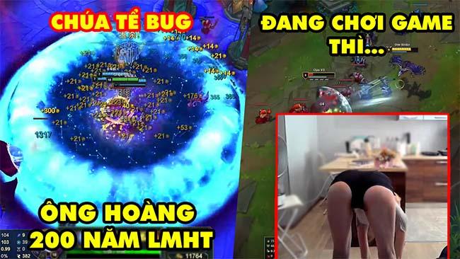 TOP khoảnh khắc điên rồ nhất LMHT 149: Chúa tể Bug 200 năm, Đang chơi game thì làm động tác nhạy cảm
