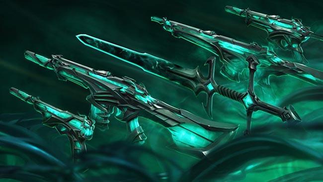 """Không chỉ LMHT, Đại Suy Vong cũng lan đến Valorant với dàn skin súng max """"ping"""""""
