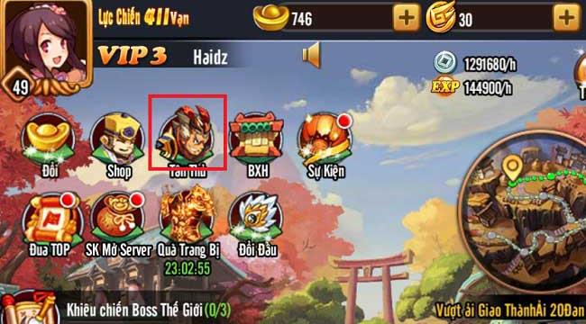 Tặng 500 giftcode Chiu Chiu Tam Quốc nhân dịp ra mắt chính thức