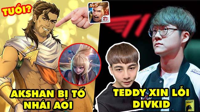 Update LMHT: Fan Liên Quân tố AKSHAN nhái Aoi bị phản dame – Xạ Thủ T1 Teddy phải xin lỗi Divkid