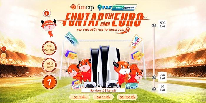"""Máy chơi game """"quốc dân"""" PlayStation 5 đang chờ người chơi giành lấy tại sự kiện Funtap Euro"""