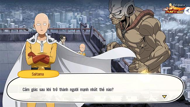 Game thủ đang bàn luận gì về One Punch Man: The Strongest?