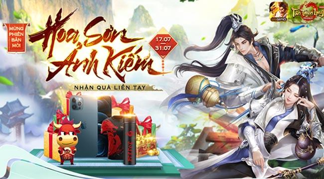 """Cộng đồng Tân Thiên Long Mobile VNG nóng từng ngày với loạt event """"chào đón"""" môn phái mới Hoa Sơn"""