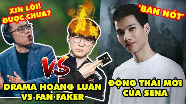 Update LMHT: Toàn cảnh Drama BLV Hoàng Luân với Hội fan cuồng Faker – Sena có động thái mới bán nốt