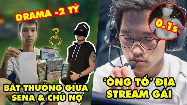 Update LMHT: Phát hiện điều bất thường Drama Sena 2 tỷ và chủ nợ, Crown vừa combat vừa đá stream gái