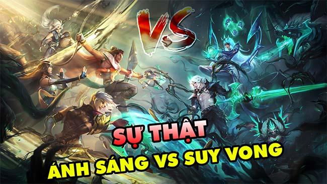 Sự thật Vệ Binh Ánh Sáng vs Đại Suy Vong – Cuộc đối đầu Akshan và Viego trong Huyền Thoại Runeterra