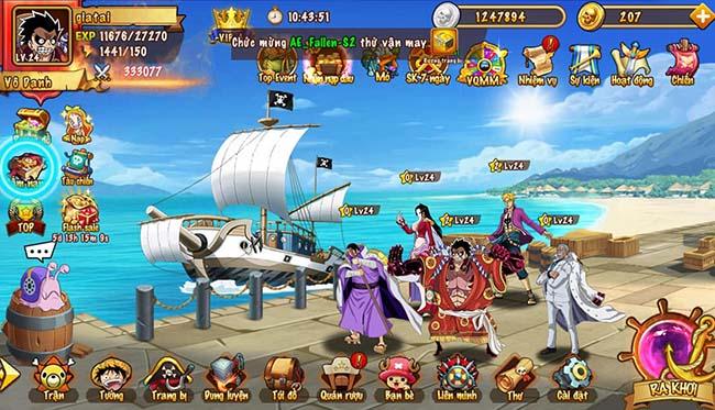 Trải nghiệm Hải Tặc Loạn Chiến: thế giới hải tặc trong One Piece đầy sống động