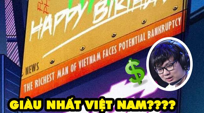 """LMHT: Bất ngờ khi poster gáy trước trận của FPX gọi """"SofM là người giàu nhất VN"""""""