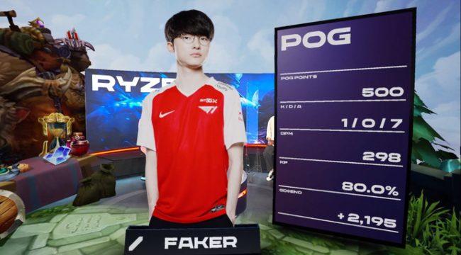 LMHT: Faker trở lại cuộc đua MVP, T1 bay cao từ ngày thay tướng