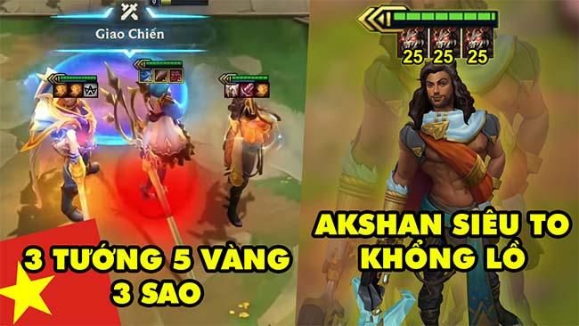 TOP khoảnh khắc điên rồ nhất Đấu Trường Chân Lý 161: Akshan siêu to khổng lồ, 3 tướng 5 vàng 3 sao