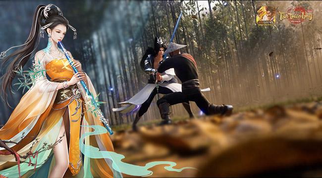 Hoa Sơn được hé lộ ngoại hình 3D trong trailer của Tân Thiên Long Mobile VNG