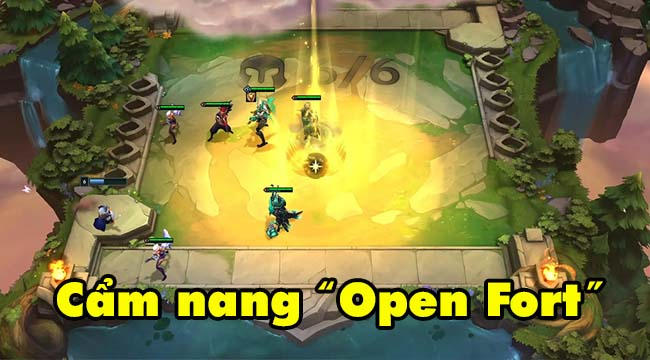 """Đấu Trường Chân Lý 5.5: Chiến thuật """"Open Fort"""" trở lại nhờ cơ chế mới"""